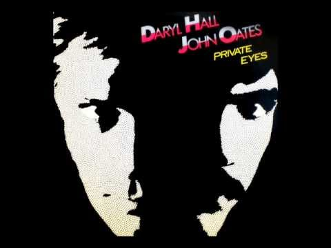 Hall and Oates Private Eyes w/ lyrics