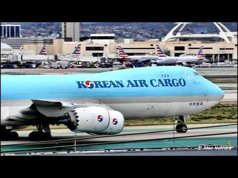 Plane Spotting at LAX Video 157