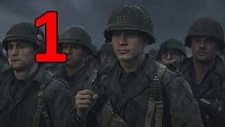Call of Duty: WW2 Walkthrough Part 1 Mission 1 No Commentary (D-Day)