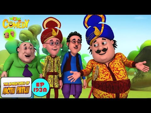 Motu Ki Shadi - Motu Patlu in Hindi - 3D Animated cartoon series for kids - As on Nick thumbnail