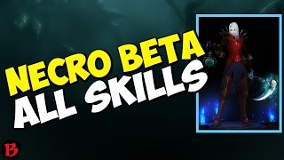 Video Diablo 3 - Necromancer Beta All Skills, Passives & Abilities PTR 2.6 Gameplay download MP3, 3GP, MP4, WEBM, AVI, FLV September 2017