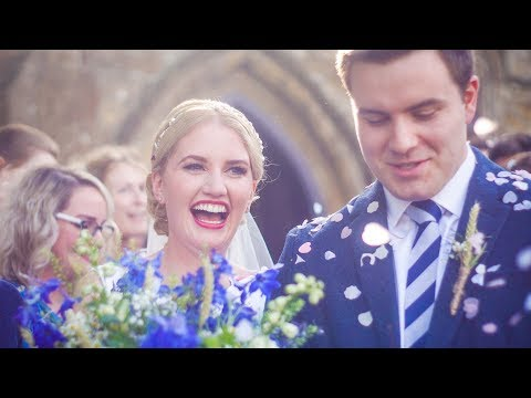 Josephine and Gareth, Foxton Market Harborough Wedding Cinematography