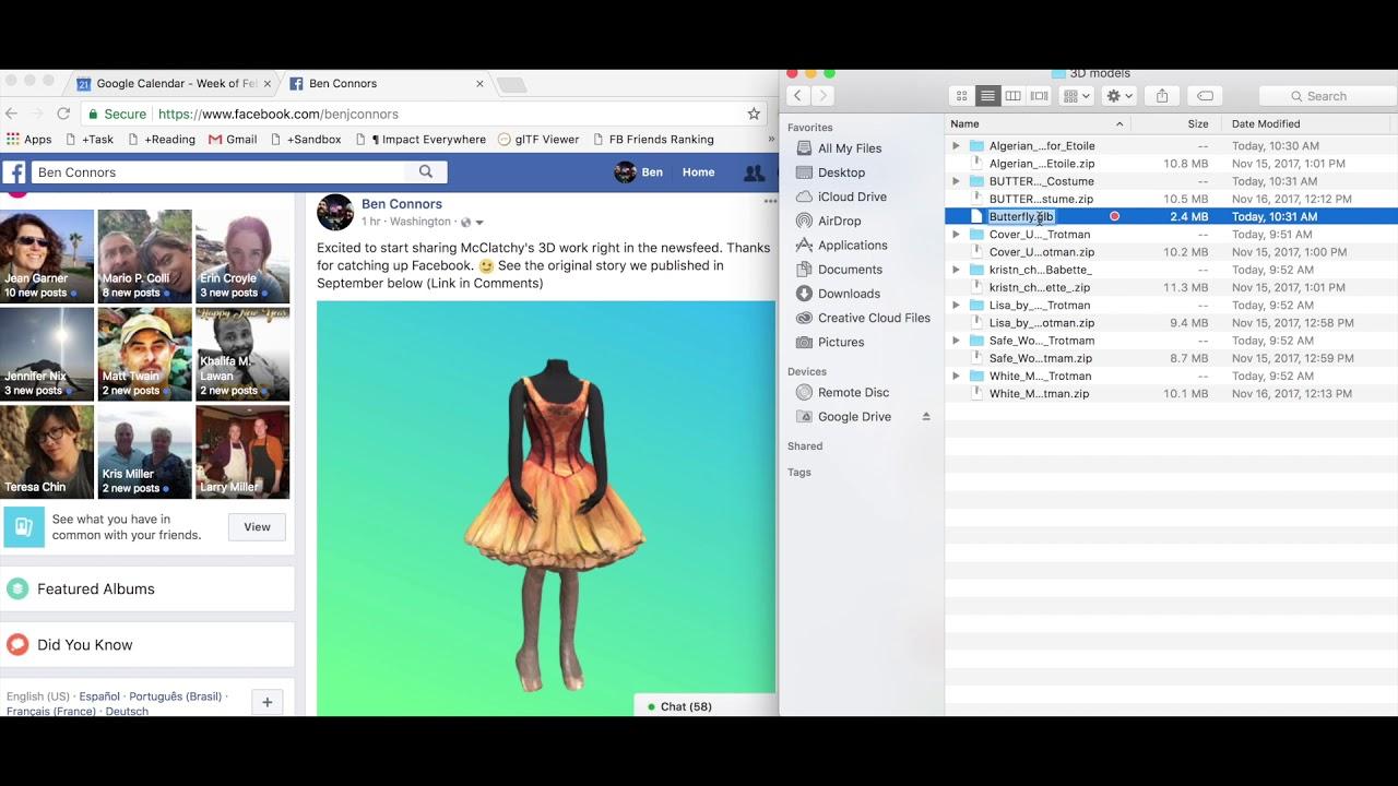 Quick Facebook 3D Post Tutorial