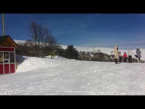 Лыжный курорт в Цахкадзоре  Армения