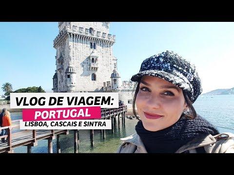 Vlog de viagem: Portugal (Lisboa, Sintra e Cascais) | Anita Bem Criada