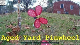 Aged Yard Pinwheel