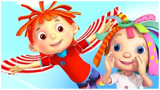 Best Cartoons for Kids | DREAMING OF FLYING LIKE A BIRD | Everythings Rosie