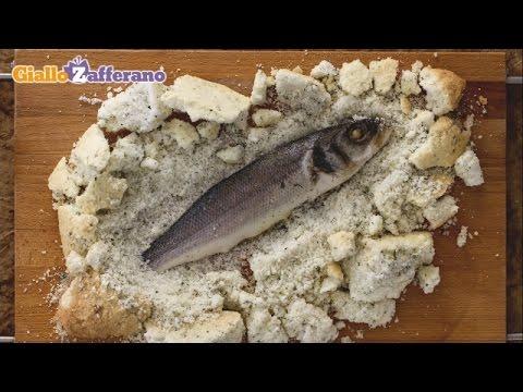 Sea Bass In A Salt Crust - Italian Recipe