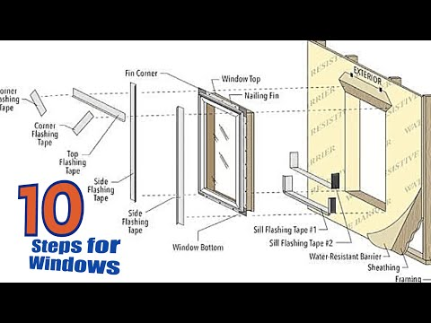 How To Install a Window   Top 10 Things You Should Do!