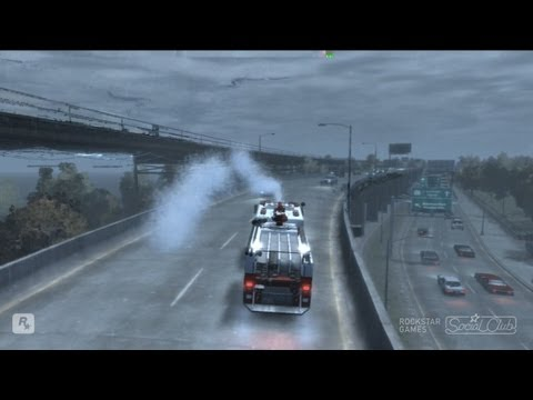 GTA IV Gameplay: Stealing A Fire Truck
