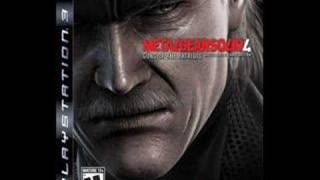 Metal Gear Solid 4 OST Track 13 - Midnight Shadow