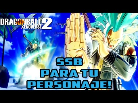 Dragon Ball Xenoverse 2: Super Saiyan Blue Para tu Personaje H/M |Gameplay en español