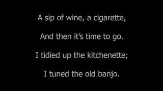 Скачать Leonard Cohen Boogie Street Lyric