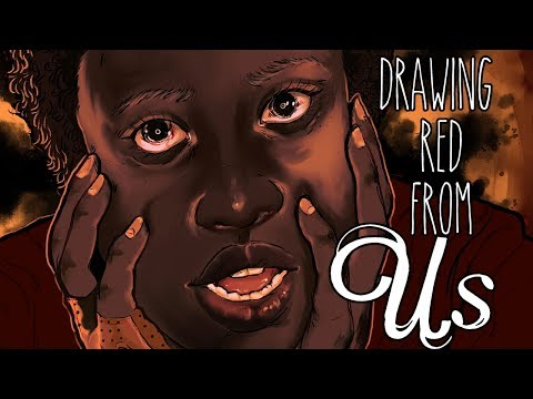 Drawing Red from Jordan Peele's 'US'