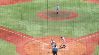 20170720 東京学館新潟・長谷川、準々決勝でのピッチング thumbnail