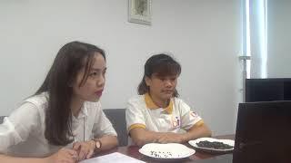 Phỏng vấn Skype lao động Nguyễn Thị Anh- Đơn hàng điện tử Xuất khẩu lao động Bảo Minh