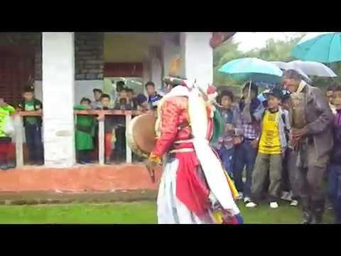 Shaman ritual Nepal Gatlang / Martial way of Shaman