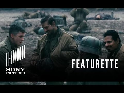 "FURY Featurette - ""Brothers Under the Gun"""
