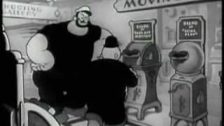 Popeye el Marinero el Hombre en que los Clientes Querían - B&W