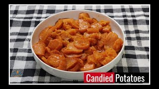 How to Make Baked Candied Sweet Potatoes  Unboxing New Serving Bowls