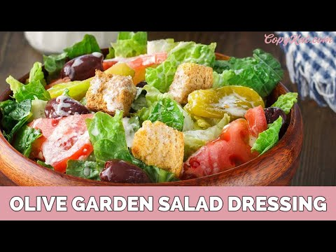 Olive Garden Salad Dressing - CopyKat.com - YouTube