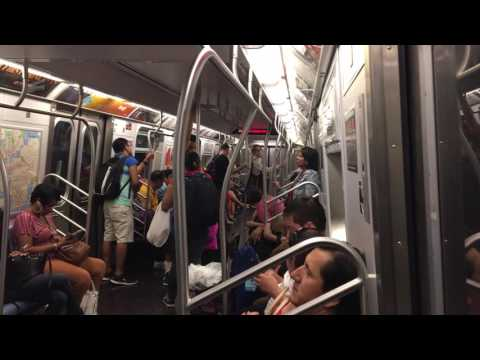 MTA NYC Subway F train ride (14th St to 34th St/Herald Square)