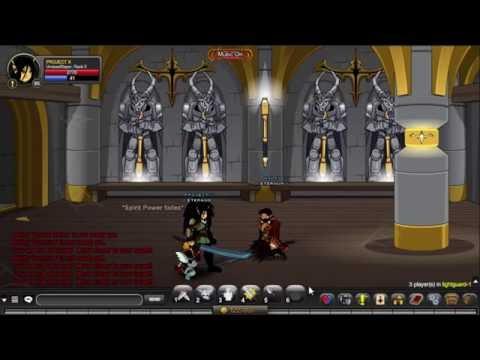AQW: Farming Lightguardian Spirit Blade
