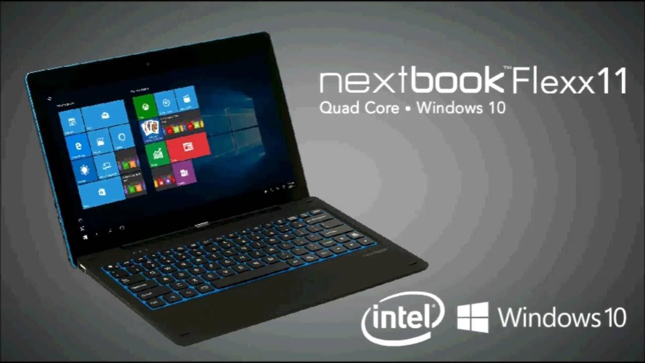 Windows nextbook flex 10 - Nextbook Flexx 11 6 2 In 1 Tablet 2 64gb Intel Quad Core Windows 10