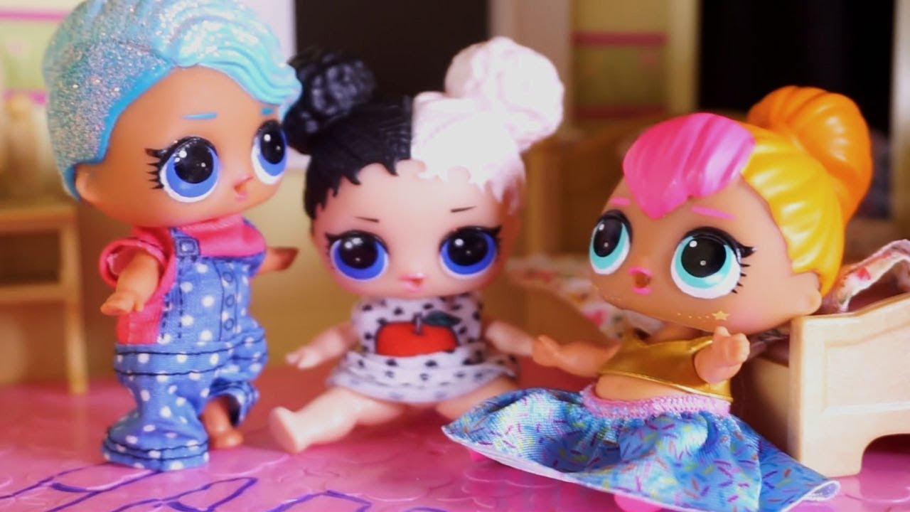 lol surprise dolls finally go home and sparkles gets bossy with her rh youtube com
