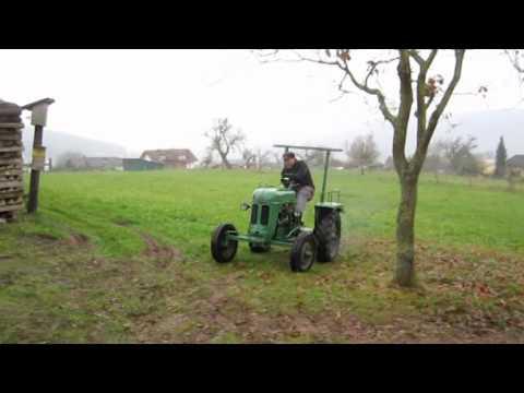 bautz traktor as 120 zu verkaufen youtube. Black Bedroom Furniture Sets. Home Design Ideas