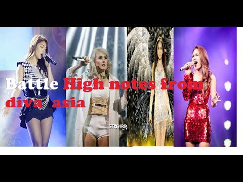 Battle High Notes From Diva Asia | Ailee, My Tam, Agnez Mo, Sarah Geronimo |