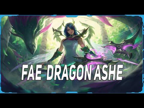 Nuevo Skin - Fae Dragon Ashe 1350RP Parche 10.20
