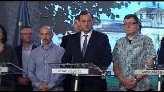 Petr Nečas: Podám demisi na pozici premiéra