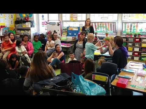 Botvinnik's 2018 Mother's Day kindergarten program @ PEARLS Hawthorne School (5.5 y/o)