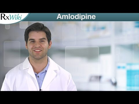 Amlodipine For High Blood Pressure and Chest Pain - Overview
