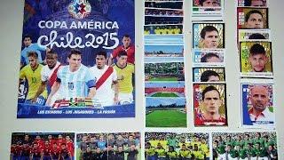 Álbum de Figuritas Panini - Copa América Chile 2015 (Sale Messi)