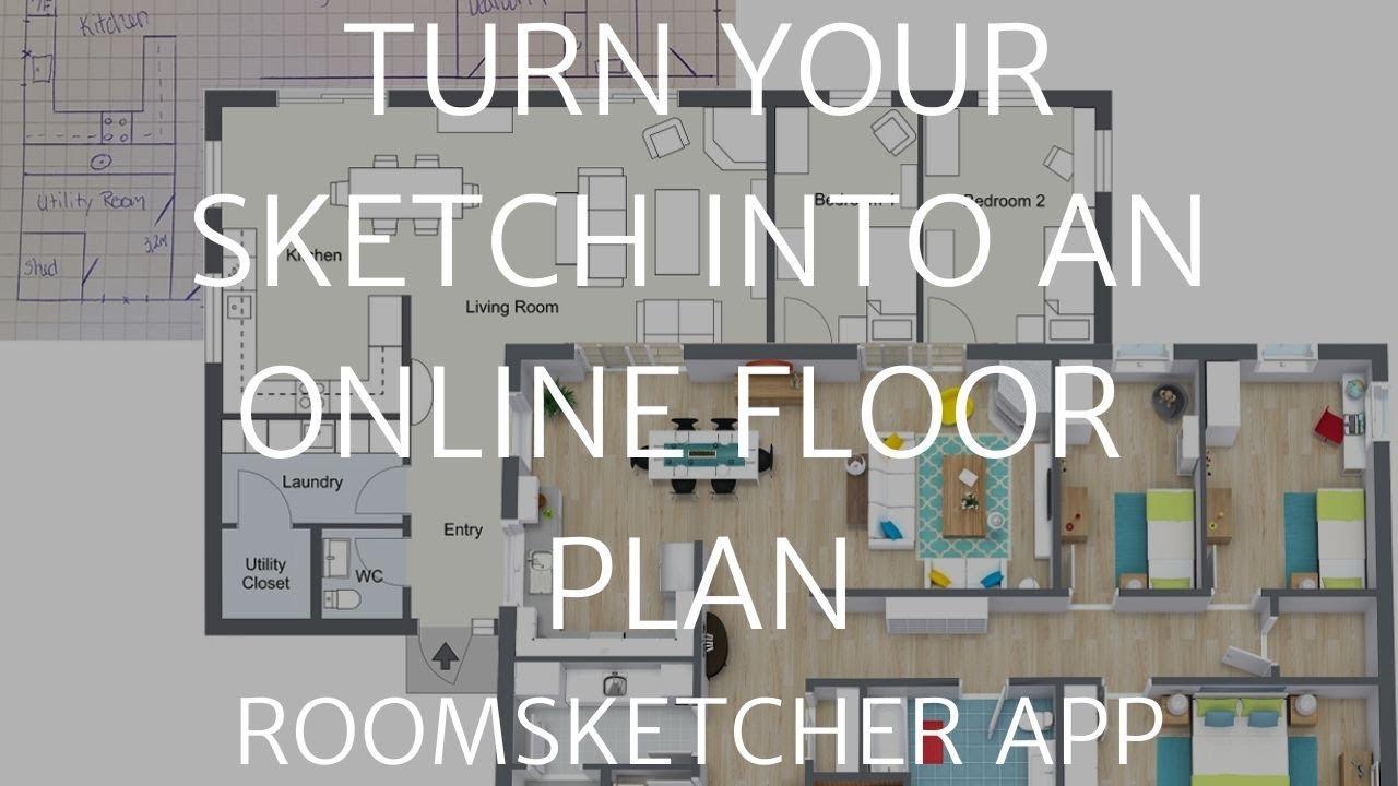 Turn Your Paper Floor Plan Sketch into a Professional Online Floor Plan