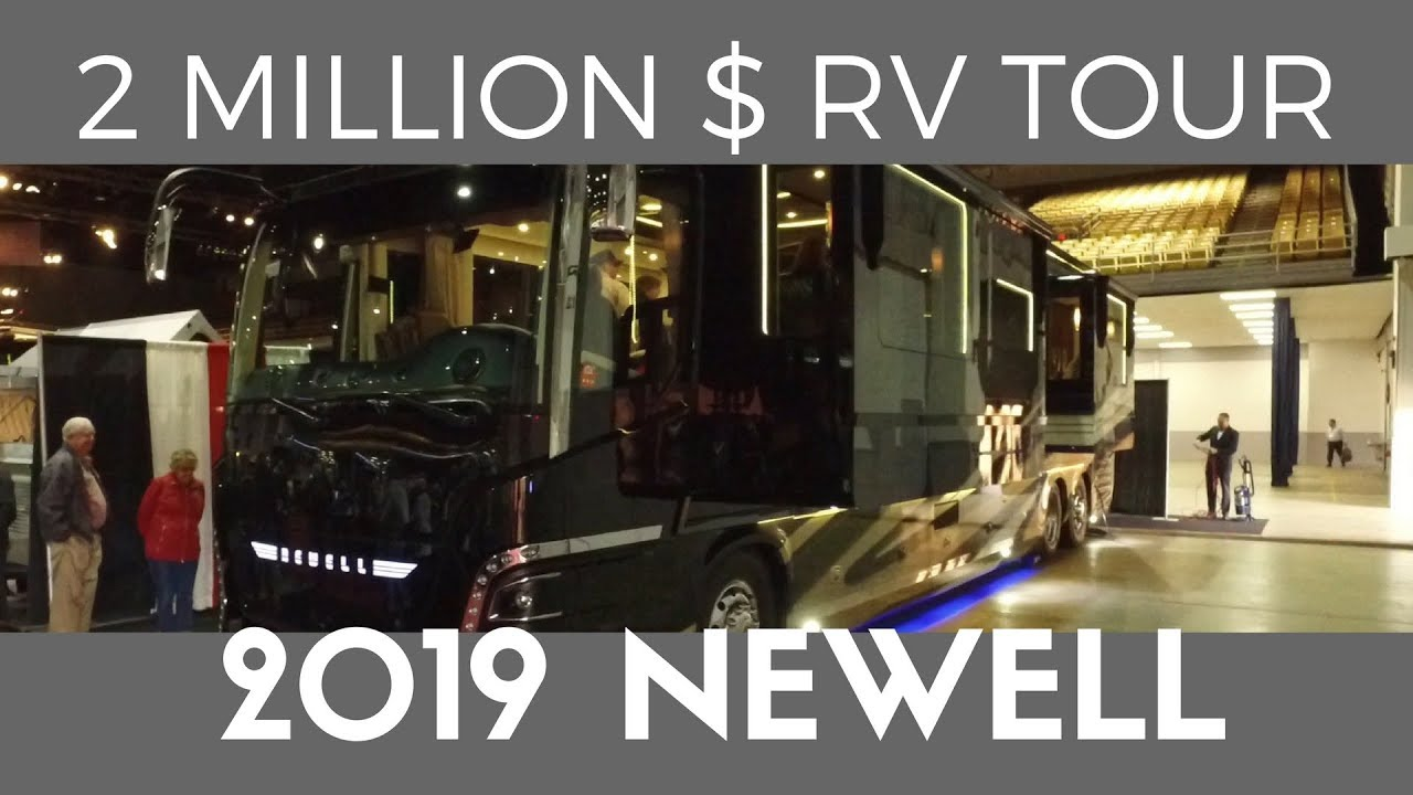 2020 Tampa Rv Show.Tour A 2 Million Dollar Luxury Rv 2019 Newell Coach Walkthrough Seen At The 2018 Tampa Rv Show