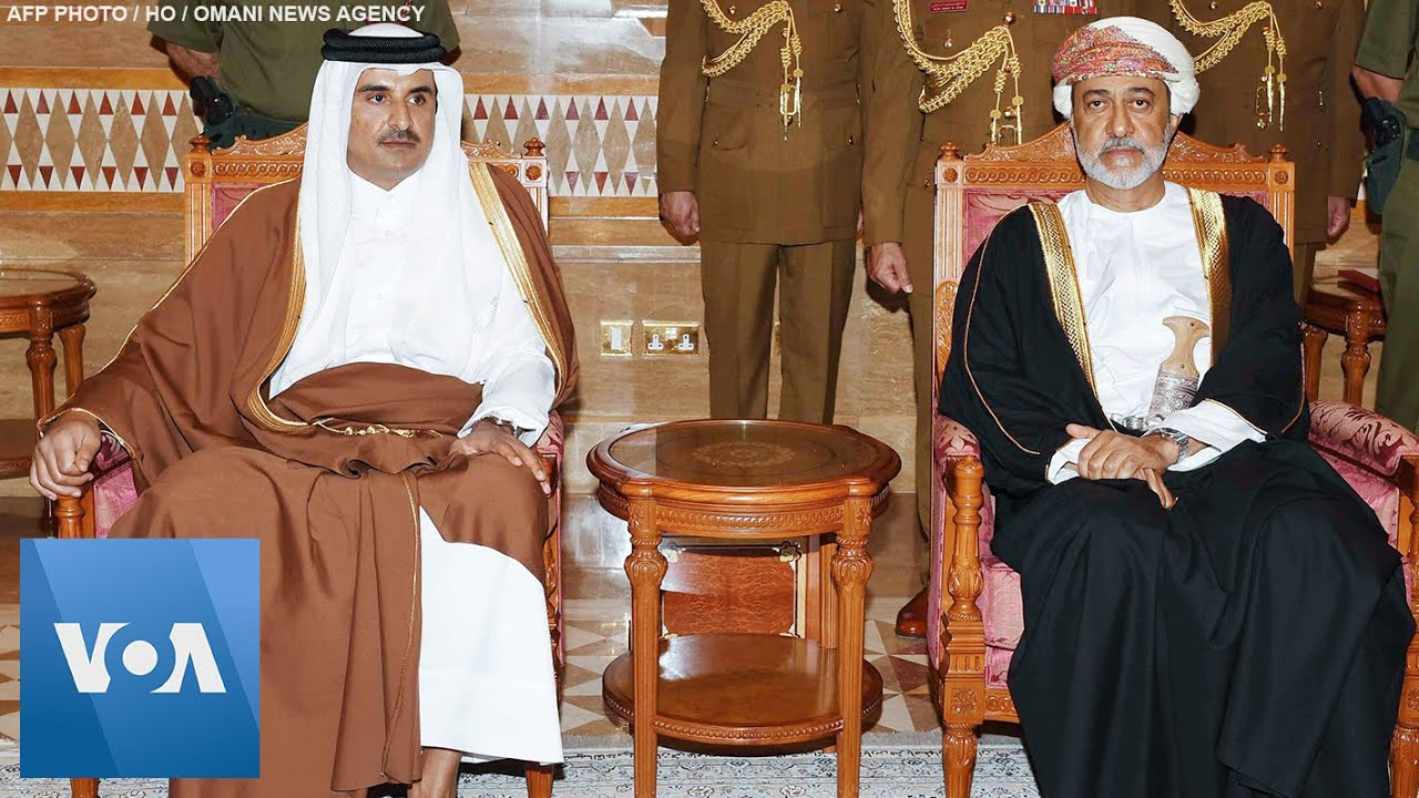 Leaders Including Emir of Qatar, British PM Johnson Pay Respects in Oman After Sultan's Death