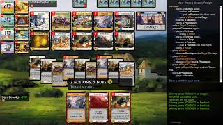 Develop Tricks and a Turn 6 Win - Dominion Online
