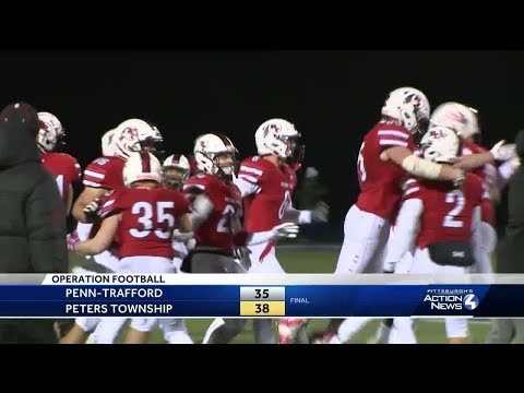 Game of the Week: Peters Township tops Penn-Trafford in a wild one