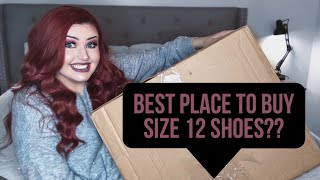 Where to Buy Shoes for Large Feet - Size 12 Shoe Haul & Unboxing | Blaize McKennah