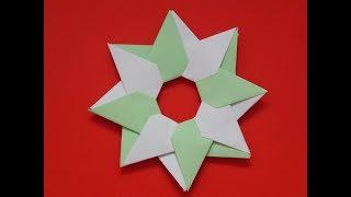ORIGAMI STAR ROBIN DIY