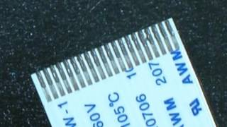 Using Low Temperature Solder Paste to connect a Flat Flex Cable