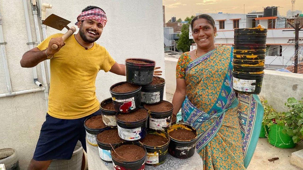 விட்டா மாடியிலேயே நாங்க விவசாயம் பண்ணிருவோம் 🤣|| Amma Kai Pakkuvam