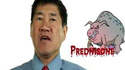 what's a safe dose of prednisone