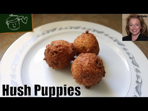 How To Make Homemade Hush Puppies - Green Onion Hush Puppies Recipe To Die For!