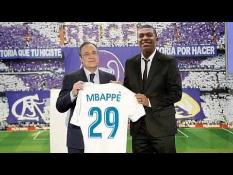 MBAPPE in Woww..MBAPE GOES TO REAL MADRID €180M???  Most Expensive Real Madrid Signings all time