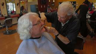 Anthony Mancinelli, 106-Year-Old Barber