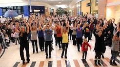 Flash Mob Leclerc Champfleury L'Orange Bleue REIMS TINQUEUX
